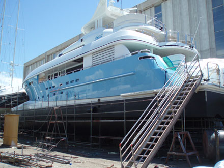 Yacht projects and yacht project management, Blue Ensign